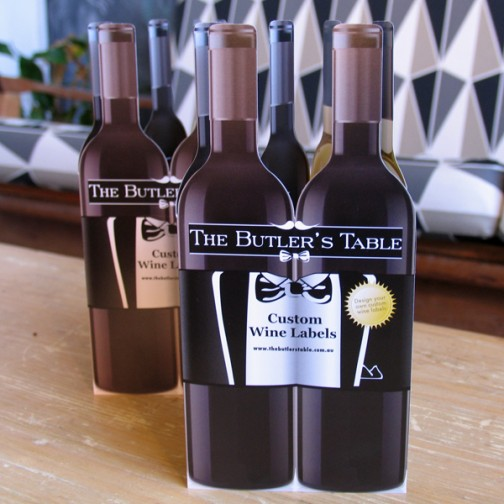 The Butler's Table Wine Bottle DL