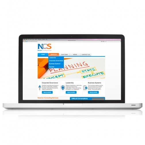 Newman Consulting Services Web Design