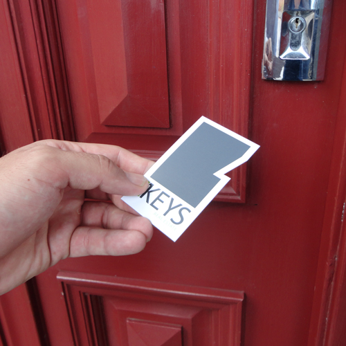 Keys Real Estate, Toronto and Wangi Wangi, business card design
