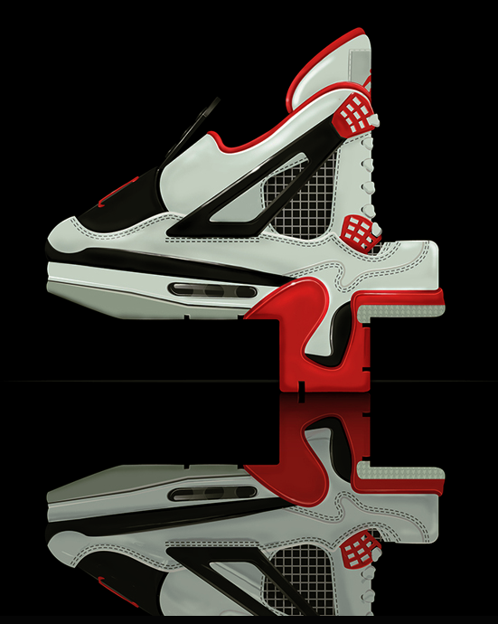 Neon zoo graphic design newcastle typeface tuesday jordan 4′s