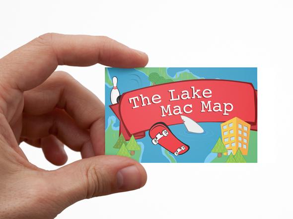 CALM directory map Neon Zoo graphic design studio Newcastle