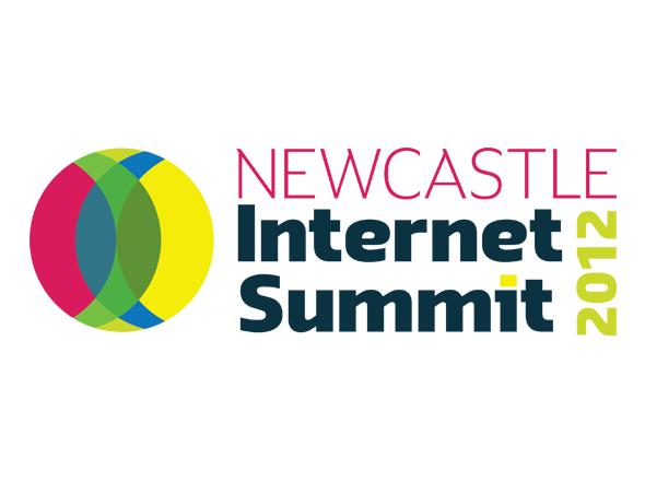 Newcastle Internet Summit logo design Neon Zoo graphic design studio Newcastle