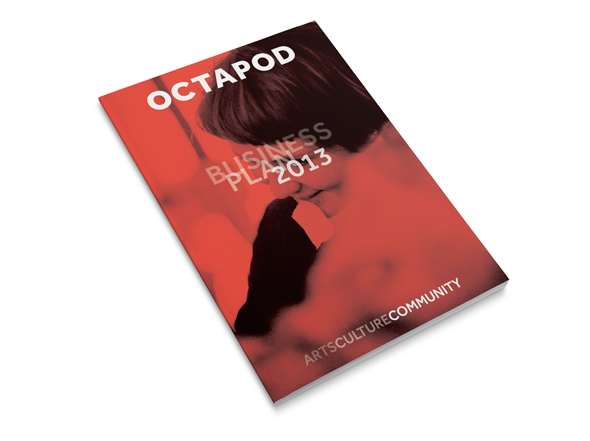 Octapod Annual Report Neon Zoo graphic design studio Newcastle NSW
