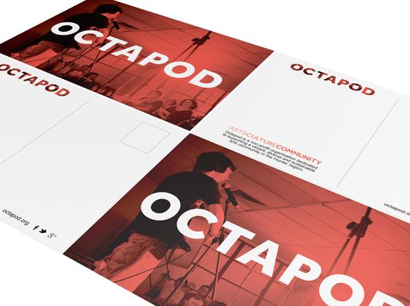 Octapod Postcard Design