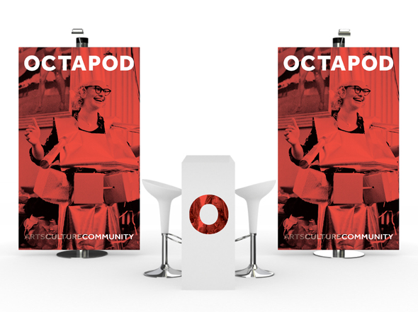 Octapod Promotional Banner Design by Neon Zoo Newcastle