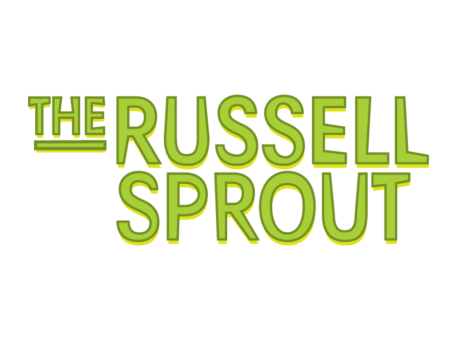 The Russell Sprout logo design