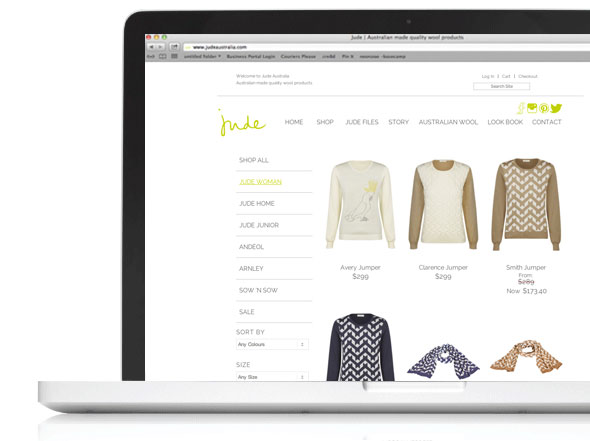 judeaustralia.com web design