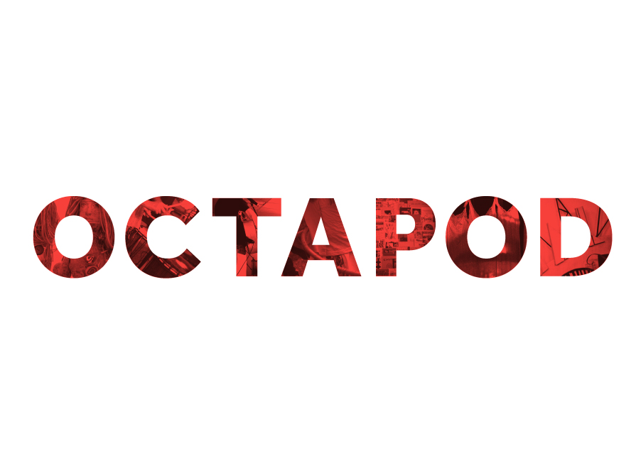 Octapod logo design
