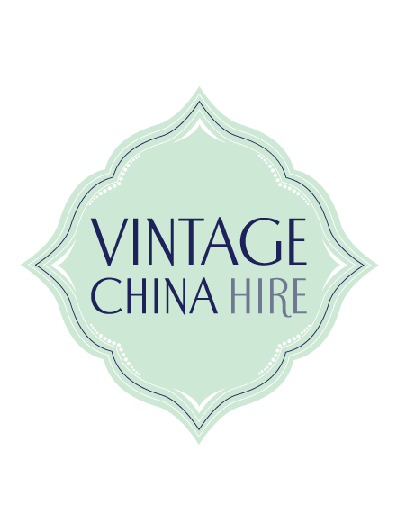 Vintage China Hire logo design