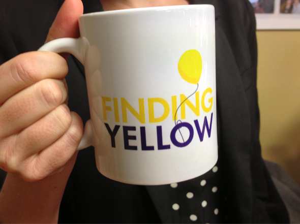Finding Yellow mug design