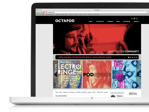 octapod Newcastle web design
