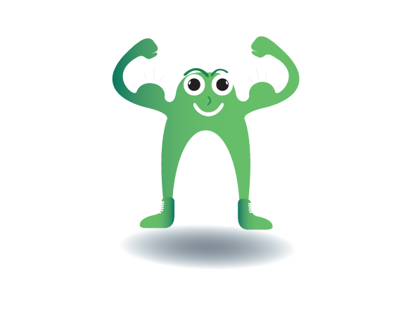 mascot design - flexible business learning