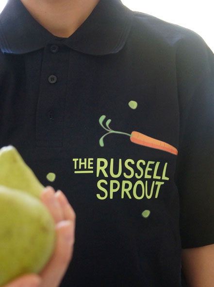 The russell Sprout uniform design