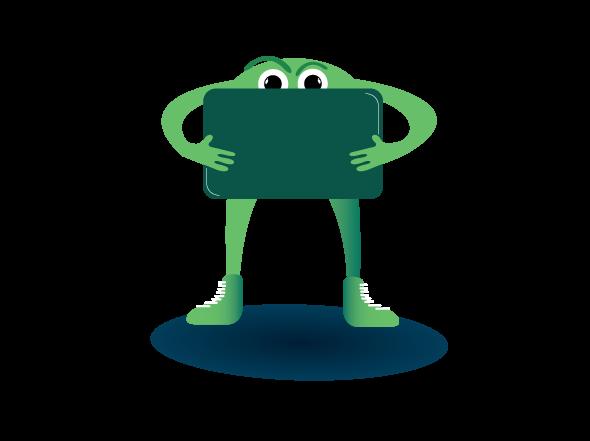 mascot design - flexible business learning