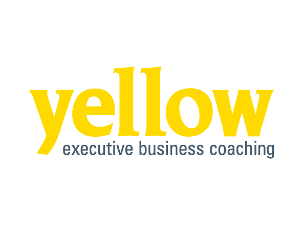 Yellow Executive Business Coaching logo design