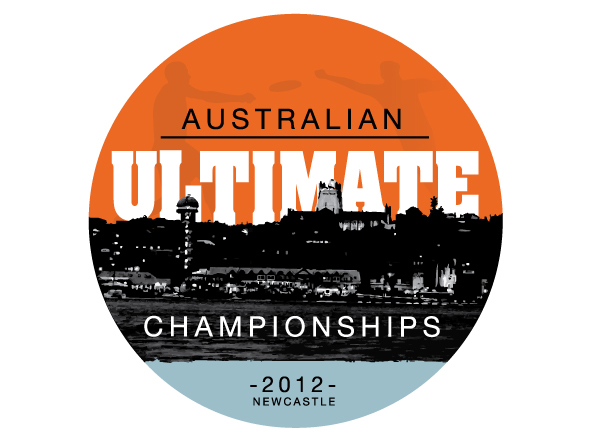 Australian Ultimate Championships Logo Mark Design by Neon Zoo Newcastle