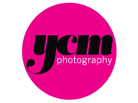 Logo mark design for YCM Photography by Newcastle design agency Neon Zoo