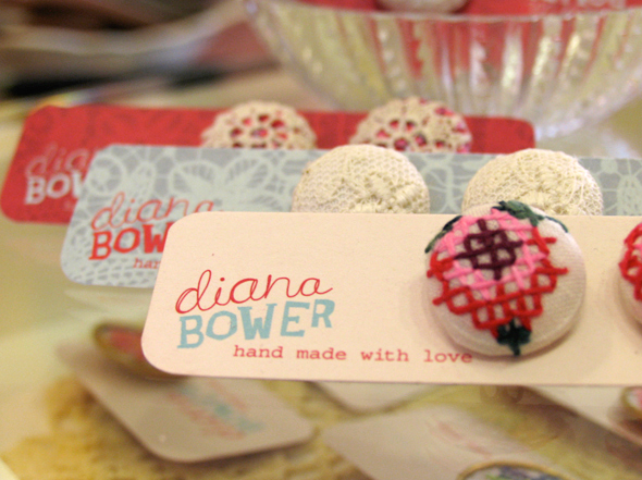 Branding developed by Neon Zoo for local Newcastle jewellery designer Diana Bower