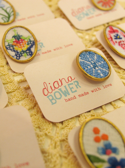 Diana Bower's branding concept desined by Newcastle design studio, Neon Zoo
