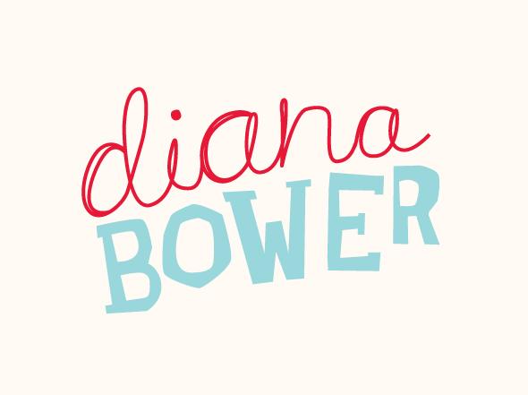 Diana Bower logo mark designed by Neon Zoo