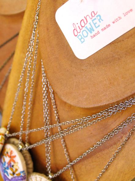 Brand identity design for jewellery designer Diana Bower