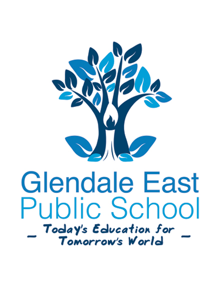Glendale East Public School Emblem Design Neon Zoo design studio Newcastle