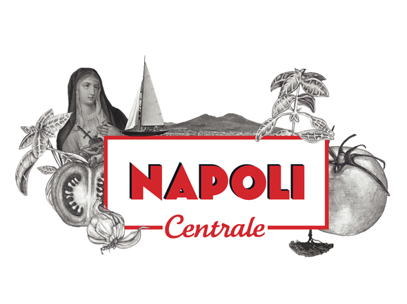 Napoli Centrale Primary Logo Design Neon Zoo graphic design studio Newcastle