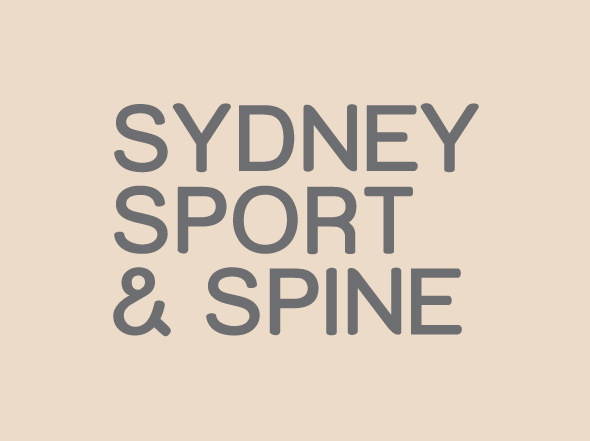 Sydney Sport & Spine logo mark design