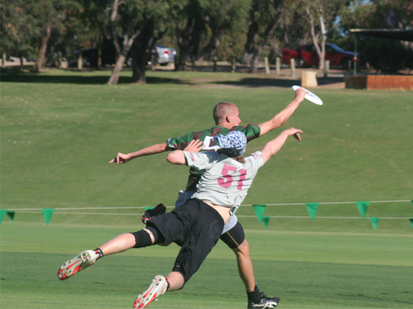 Ultimate Frisbee Championships 2012