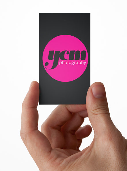 logo design for YCM photography newcastle