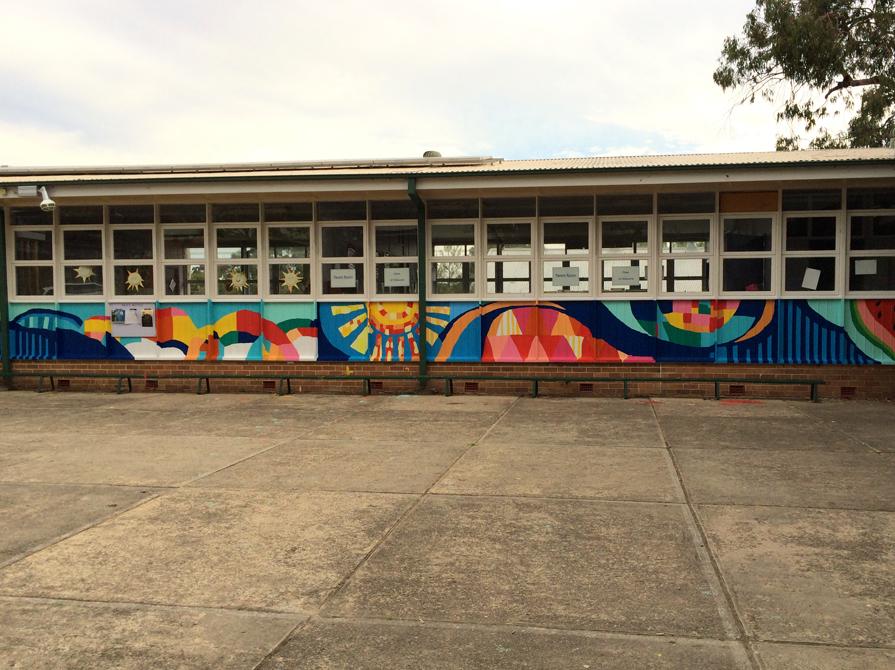 Glendale East Public School Community Paint Day