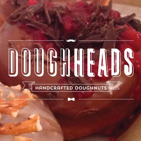 doughheads logo design