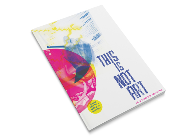 This Is Not Art program cover