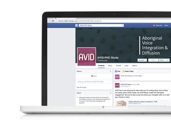 Social Media Assets for AVID Study