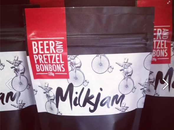 Milkjam Beer and Pretzel Bon Bons