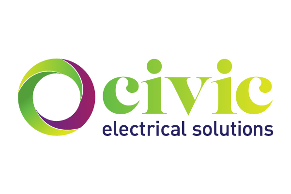 Civic Electrical Solutions logo design