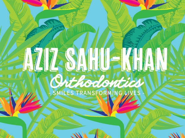 Brand design for Aziz Sahu-Khan