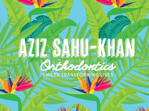 Brand design for Aziz Sahu-Khan