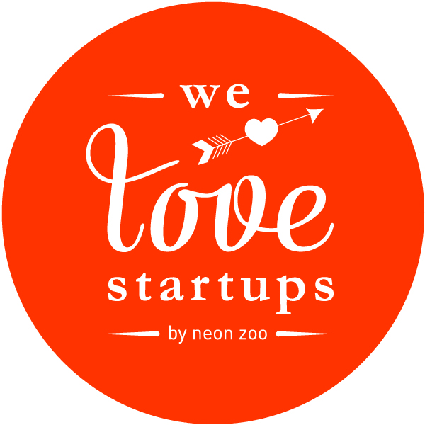 We love Startups logo design