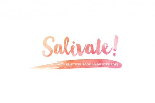 salivate logo design newcastle