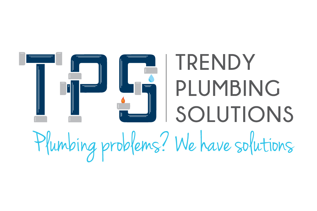 Trendy Plumbing Solutions logo design Newcastle
