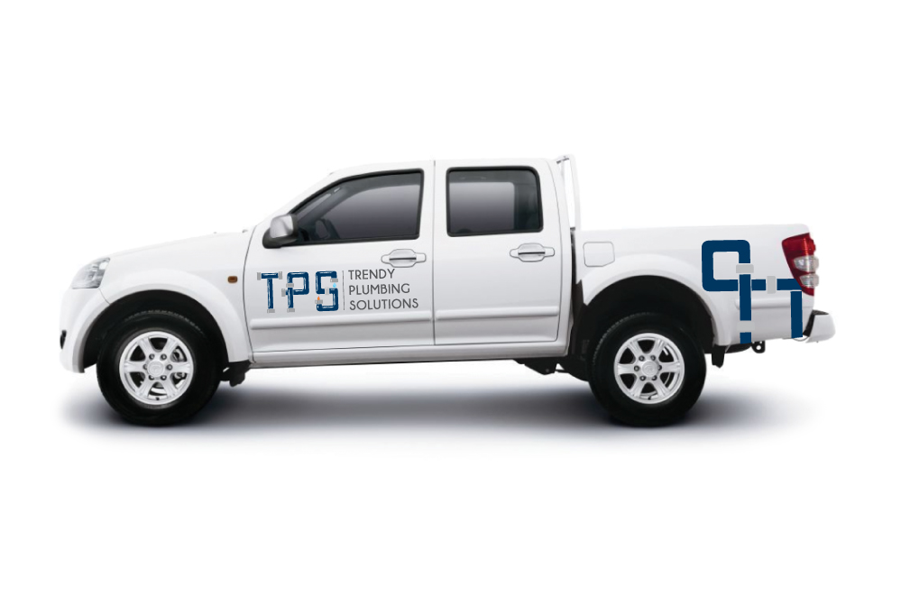 Trendy Plumbing Solution logo design Newcastle