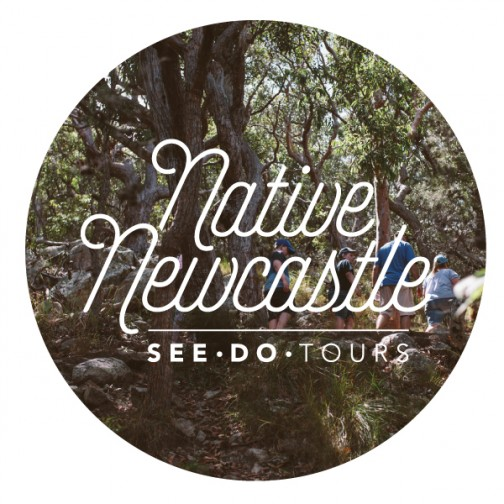 Native Newcastle logo design